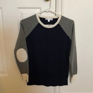 Downeast women's colorblock sweater